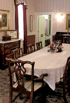 Kintner House Dining Room